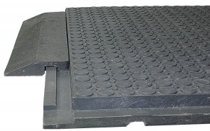 Allroundmatte mit passender Rampe als Boxenmatte oder Stallmatte