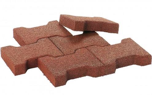 Einzelne Doppel-T-Steine für die Stallgasse