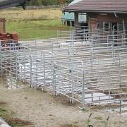 Paddockbau mit dem ProGrid Gittersystem.
