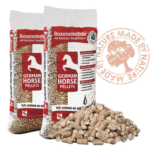 Herman Horse Pellets - Einstreu für die Pferdebox