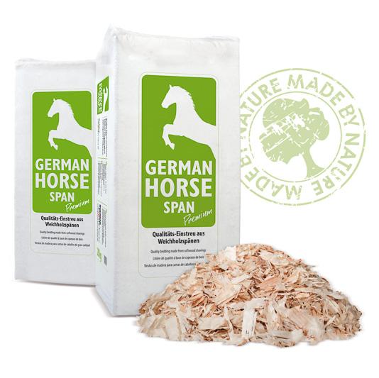 Einstreu für Pferde - German Horse Span Premium