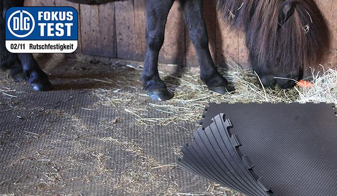 Puzzlematte für Pferde