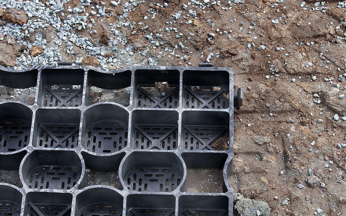 Paddock bauen ohne Untergrund
