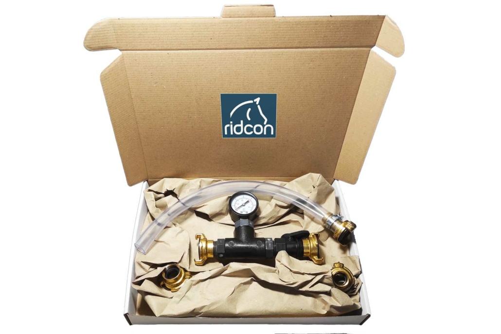 Wassertest Testset für Reitplatz und Reithalle Versandpaket